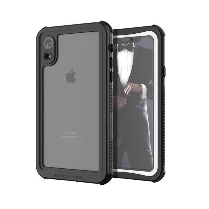 【iPhone XRケース】ノーティカル IP68耐衝撃/防水/防雪/防塵ケース  ホワイト iPhone XR_0