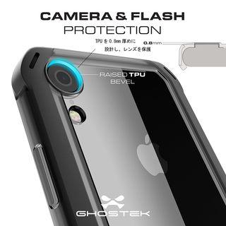【iPhone XRケース】クローク4 ハイブリッドクリア背面ケース レッド iPhone XR【10月下旬】_8