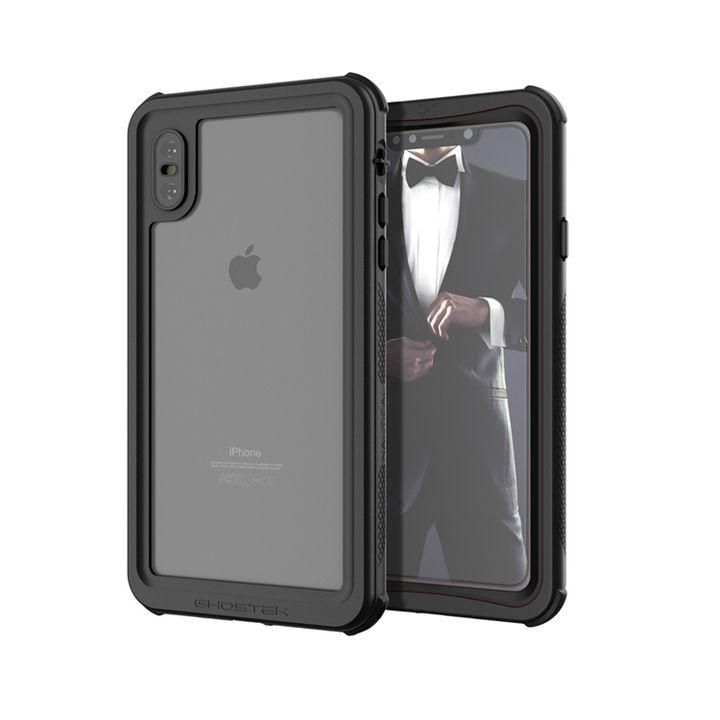 【iPhone XS Maxケース】ノーティカル IP68耐衝撃/防水/防雪/防塵ケース  ブラック iPhone XS Max_0