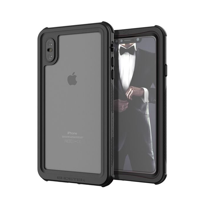 iPhone XS Max ケース ノーティカル IP68耐衝撃/防水/防雪/防塵ケース  ブラック iPhone XS Max_0