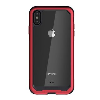 【iPhone XSケース】アトミックスリム2 背面ケース レッド iPhone XS_2