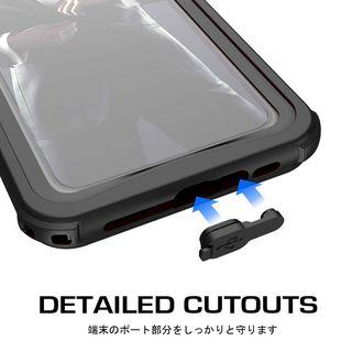 【iPhone XRケース】ノーティカル IP68耐衝撃/防水/防雪/防塵ケース  ホワイト iPhone XR_9