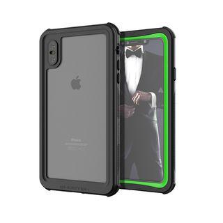 iPhone XS Max ケース ノーティカル IP68耐衝撃/防水/防雪/防塵ケース  グリーン iPhone XS Max