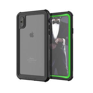 【iPhone XS Maxケース】ノーティカル IP68耐衝撃/防水/防雪/防塵ケース  グリーン iPhone XS Max