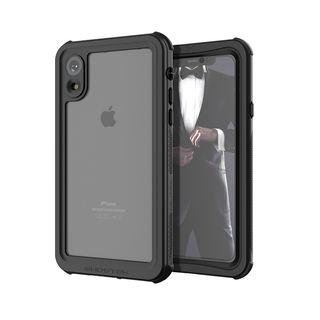 ノーティカル IP68耐衝撃/防水/防雪/防塵ケース  ブラック iPhone XR