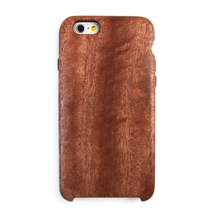 木製 アフリカンマホガニーケース iPhone 6 ケース