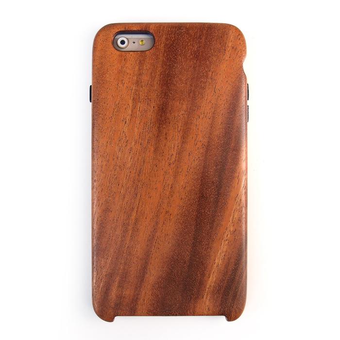 iPhone6 Plus ケース 木製 アフリカンマホガニーケース iPhone 6 Plusケース_0