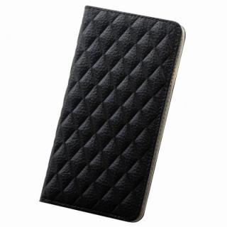 セナ 手帳型本革ケース ブラック iPhone 6s Plus/6 Plus