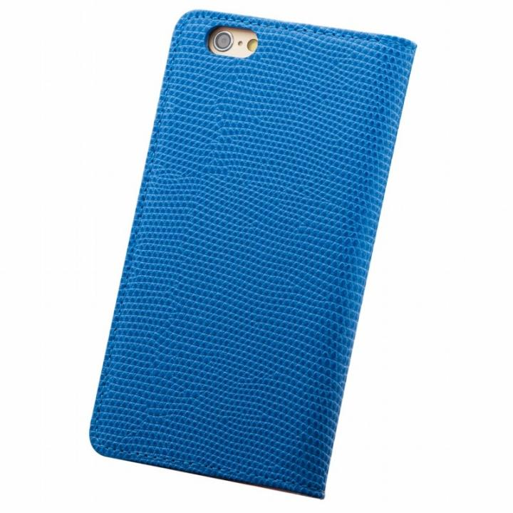 【iPhone6s Plus/6 Plusケース】サフィール 手帳型本革ケース ブルー iPhone 6s Plus/6 Plus_0