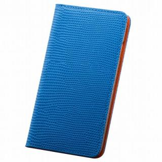 【iPhone6s Plus/6 Plusケース】サフィール 手帳型本革ケース ブルー iPhone 6s Plus/6 Plus_1