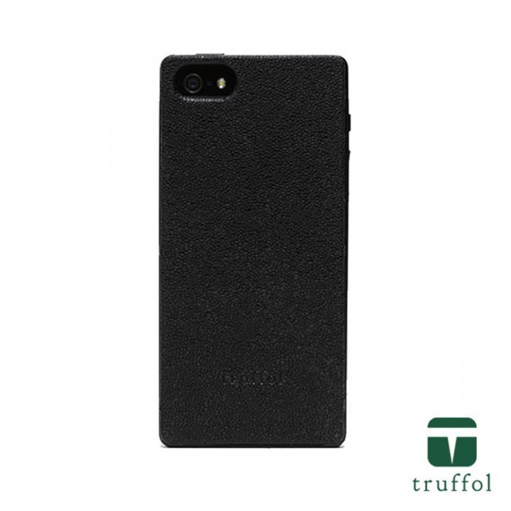 【iPhone SE/5s/5ケース】truffol クラシック ブラック/ブラック iPhone SE/5s/5ケース_0