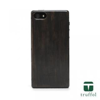 truffol ネイチャー ブラック/バンブーブラック iPhone SE/5s/5ケース