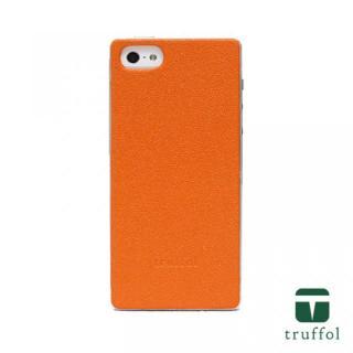 truffol クラシック シルバー/オレンジ iPhone SE/5s/5ケース
