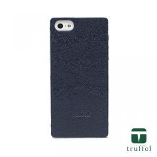 truffol クラシック シルバー/ネイビー iPhone SE/5s/5ケース