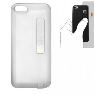 iPhone SE/5s/5 シガライター付ケース ホワイト
