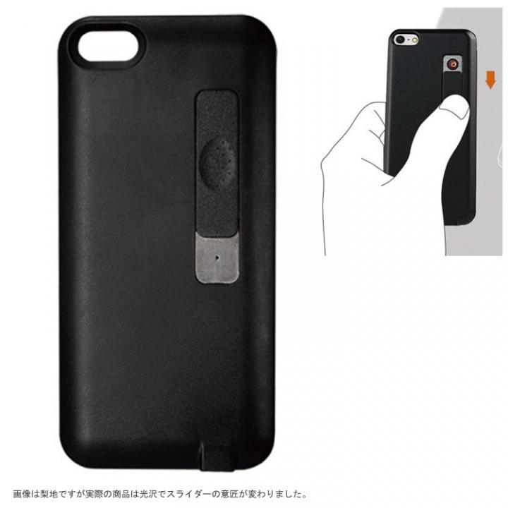 【iPhone SE/5s/5ケース】iPhone SE/5s/5 シガライター付ケース ブラック_0