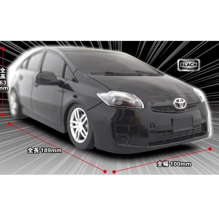 トヨタ プリウスR/C car(1/24) Black_0