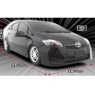 トヨタ プリウスR/C car(1/24) Black