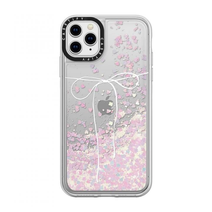 iPhone 11 Pro Max ケース casetify TAKE A BOW II - BLANC glitter iPhone 11 Pro Max_0