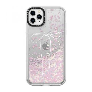 iPhone 11 Pro Max ケース casetify TAKE A BOW II - BLANC glitter iPhone 11 Pro Max