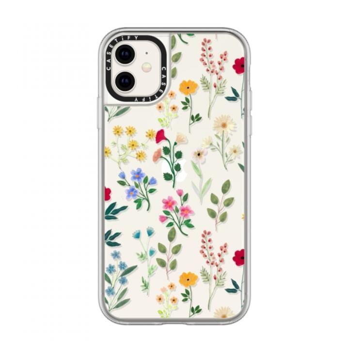 iPhone 11 ケース casetify Spring Botanicals 2 grip iPhone 11_0