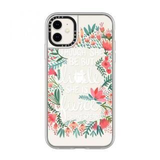 iPhone 11 ケース casetify Little & Fierce - Transparent grip iPhone 11【11月上旬】