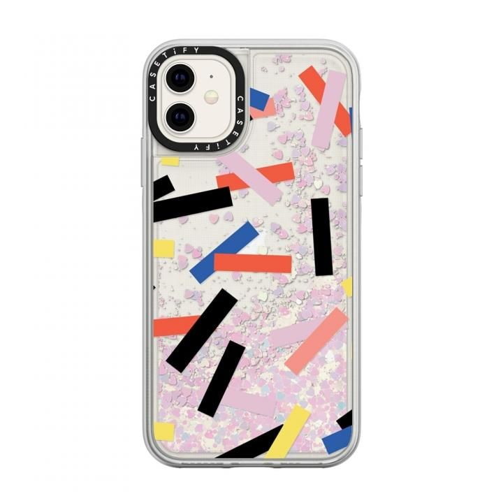 iPhone 11 ケース casetify Confetti glitter iPhone 11_0