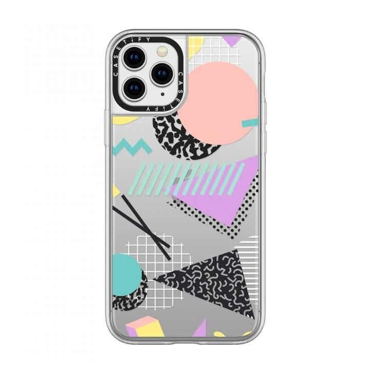 iPhone 11 Pro ケース casetify Pastel Geometric Memphis Pattern grip iPhone 11 Pro_0