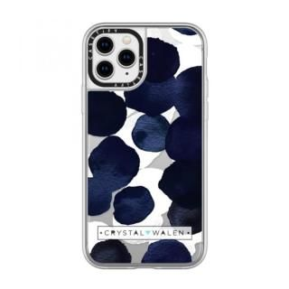 iPhone 11 Pro ケース casetify Indigo White Dots Clear grip iPhone 11 Pro