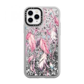 iPhone 11 Pro ケース casetify Watercolor Pink Dreamcatcher Feather Dream Catcher glitter iPhone 11 Pro