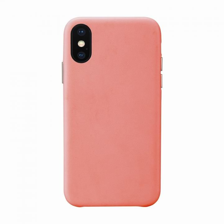 iPhone XS/X ケース HABITU Living coral iPhone XS/X_0