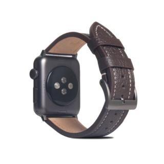 FULL GRAIN LEATHER BAND for Apple Watch 45/44/42mm ブラウンクリーム【10月下旬】
