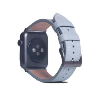 FULL GRAIN LEATHER BAND for Apple Watch 45/44/42mm パウダーブルー【10月下旬】