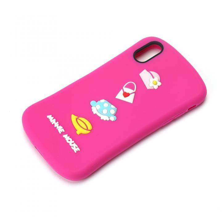 iPhone XR ケース ディズニーキャラクター シリコンケース ミニーマウス iPhone XR_0