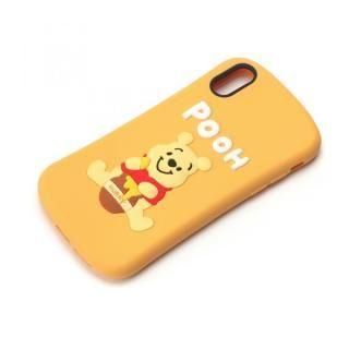 iPhone XS/X ケース ディズニーキャラクター シリコンケース プーさん iPhone XS/X