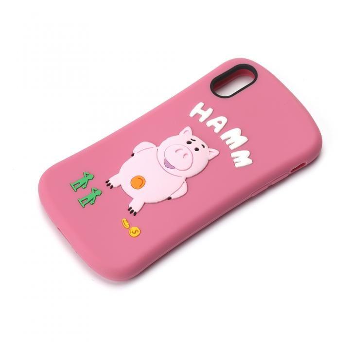iPhone XS/X ケース ディズニーキャラクター シリコンケース ハム iPhone XS/X_0