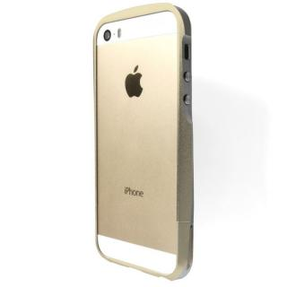 iPhone SE/5s/5 ケース GRAMAS Metal Bumper iPhone SE/5s/5 ゴールド