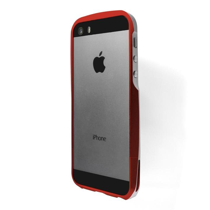 iPhone SE/5s/5 ケース GRAMAS Metal Bumper iPhone SE/5s/5 レッド_0