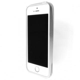 【iPhone SE/5s/5ケース】GRAMAS Metal Bumper iPhone SE/5s/5 シルバー_1