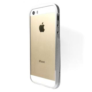 【iPhone SE/5s/5ケース】GRAMAS Metal Bumper iPhone SE/5s/5 シルバー_2