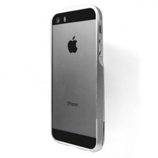 【iPhone SE/5s/5ケース】GRAMAS Metal Bumper iPhone SE/5s/5 シルバー_4