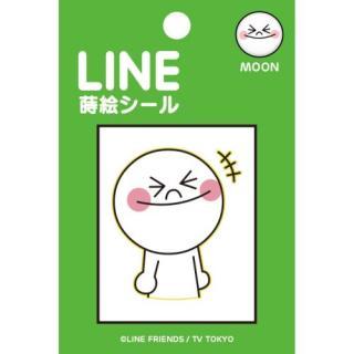 LINE 蒔絵シール MOON
