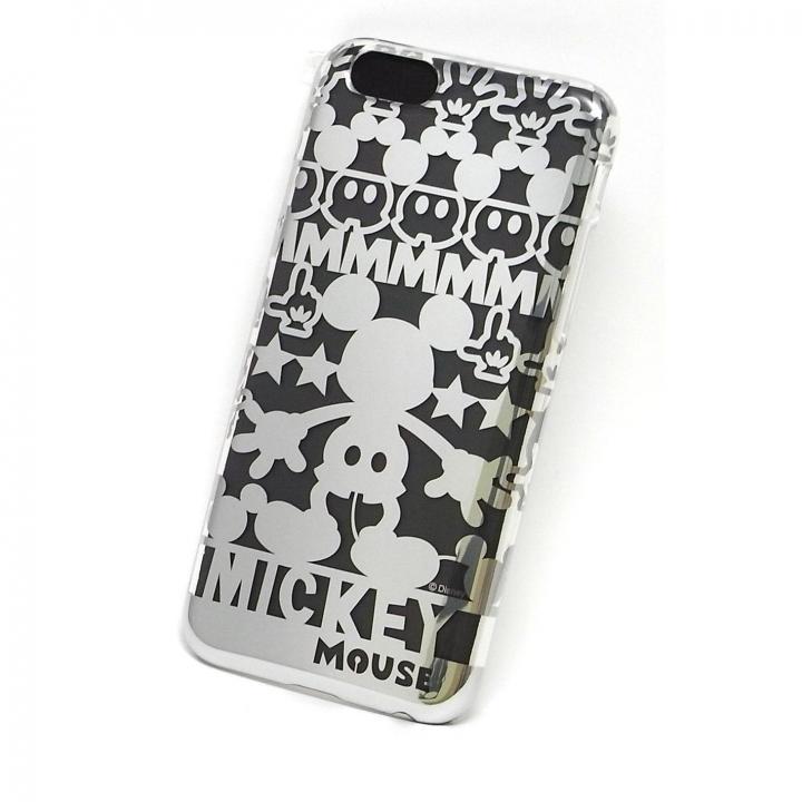 iPhone6s/6 ケース カスタムケース ディズニー シルバー ミッキー シルエット iPhone 6s/6ケース_0