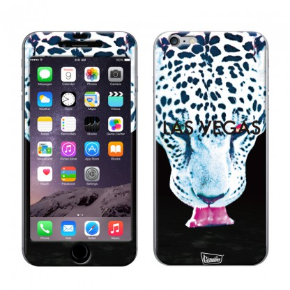 【iPhone6ケース】Gizmobies スキンシール Wild snow leopard iPhone 6スキンシール_0