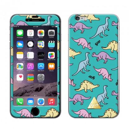 【iPhone6ケース】Gizmobies スキンシール DINOSAUR GRN iPhone 6スキンシール_0
