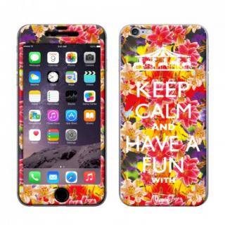 Gizmobies スキンシール parrot paradise passion iPhone 6スキンシール