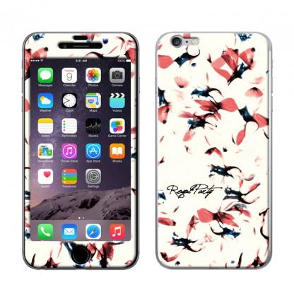 Gizmobies スキンシール Amaryllis WHITE iPhone 6スキンシール