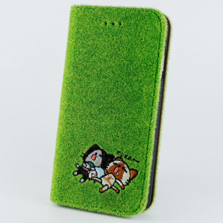 iPhone6s/6 ケース Shibaful de アイルーコラボ 手帳型ケース おひるね iPhone 6s/6_0