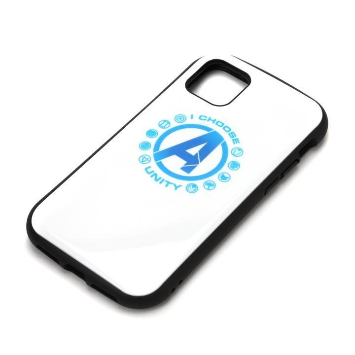 iPhone 11 ケース MARVEL ハイブリッドタフケース アベンジャーズ/ホワイト iPhone 11_0