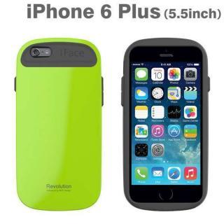 【10月下旬】手になじむ滑らかなフォルム iface Revolution グリーン iPhone 6 Plusケース